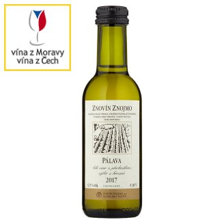 Znovín Znojmo Pálava 2013 bílé víno s přívlastkem pozdní sběr 0,187l