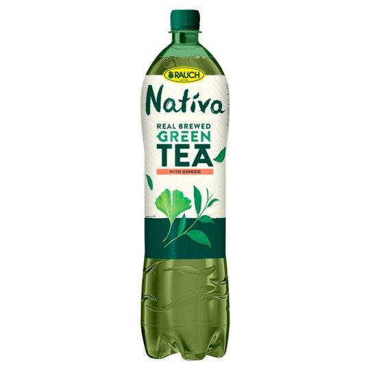 Rauch Nativa Zelený čaj s ginkgem 1,5l