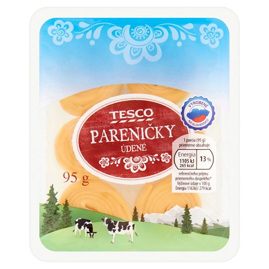Tesco Pareničky Smoked Cheese 95g