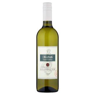 Vinařství Barborka Rulandské šedé White Dry Wine 0.75L