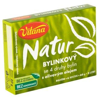 Vitana Natur Bylinkový bujón se 4 druhy bylin s olivovým olejem 60g