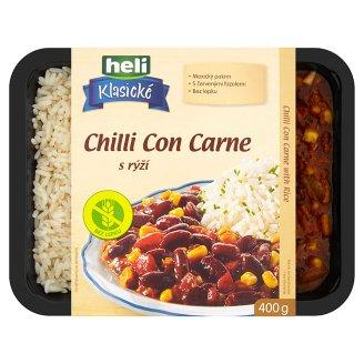 Heli Klasické Chilli Con Carne s rýží 400g