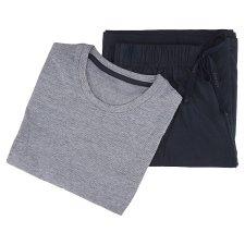 image 2 of F&F Men's Basic Dark Blue Nightwear with Short Sleeves 1 pc in Pack, XXL, Navy