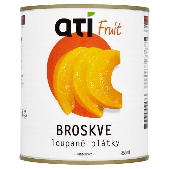 Ati Fruit Sliced Peeled Peaches 850ml