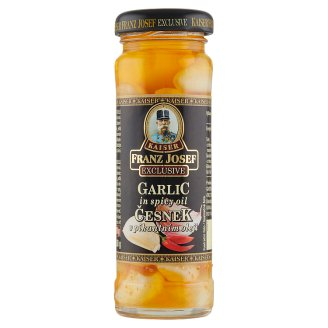 Kaiser Franz Josef Exclusive Garlic in Hot Oil 100g