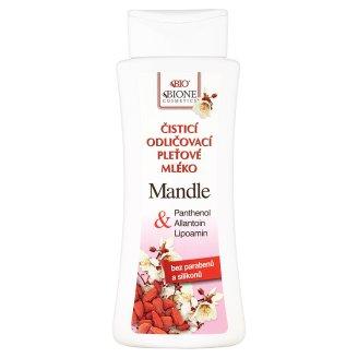 Bione Cosmetics Bio Mandle čisticí odličovací pleťové mléko 255ml
