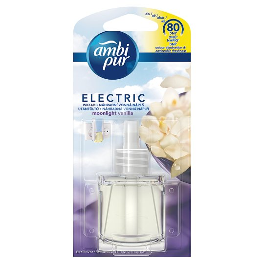 Ambi Pur Moonlight Vanilla Náplň Do Elektrického Osvěžovače