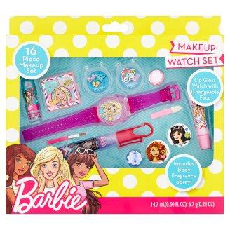 Barbie Makeup Watch Set kosmetická sada 16 ks