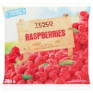 Tesco Raspberries 300g