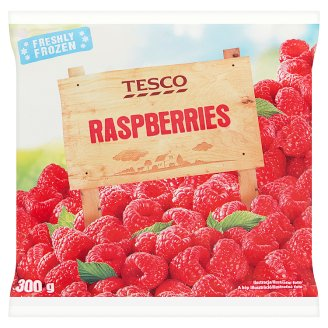 Tesco Raspberries 300g