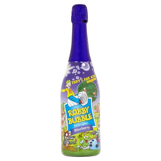 Robby Bubble Blueberry nealkoholický nápoj ochucený 0,75l