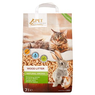 Tesco Pet Specialist Natural Aroma Wood Litter 7L