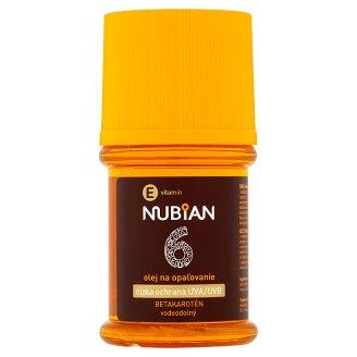 Nubian Olej na opalování s betakaroténem SPF 6 60ml