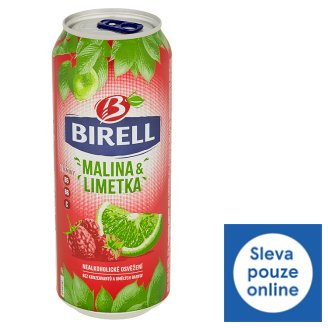Birell Lemon & Raspberry Non-alcoholic Beer 0.5L