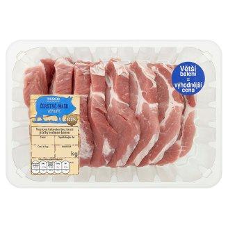 Tesco Čerstvé maso vepřová krkovice bez kosti plátky rodinné balení