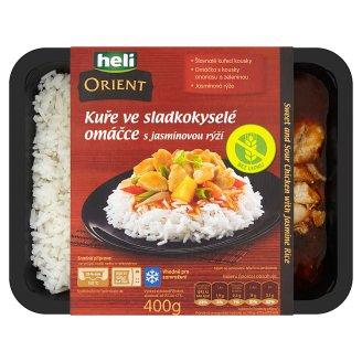 Heli Orient Kuře ve sladkokyselé omáčce s jasmínovou rýží 400g