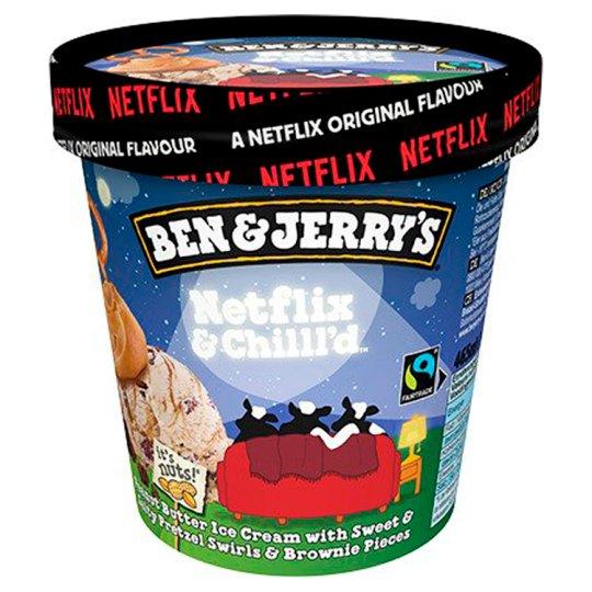 Ben & Jerry's zmrzlinaNetflix465ml