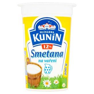 Mlékárna Kunín Cooking Cream 12% 200g