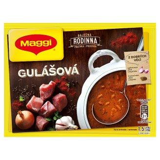 MAGGI Rodinná Gulášová polévka sáček 117g