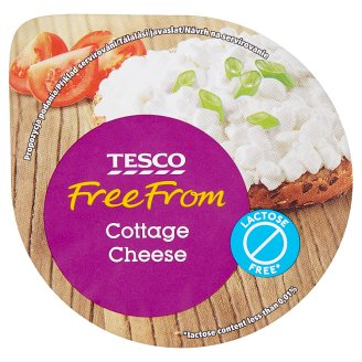 Tesco Free From Lactose-Free* Fresh Low-Fat Cheese 180g