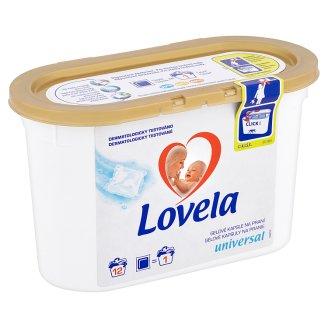 Lovela Universal gelové kapsle na praní 12 praní 228ml
