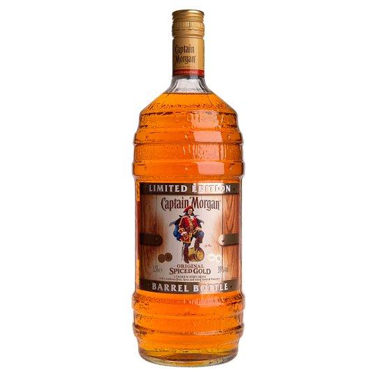 Captain Morgan Spiced Gold Barrel 1.5L