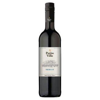 Petite Ville Merlot víno červené 750ml