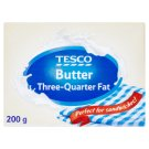 Tesco Butter Three-Quarter Fat 200g