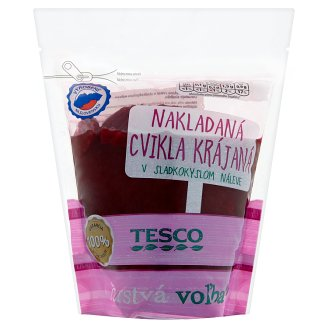 Tesco Pickled Beetroot Sliced in Sweet-Sour Brine 500g