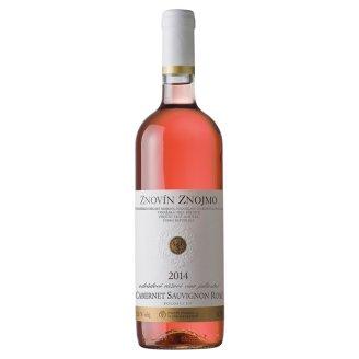 Znovín Znojmo Cabernet Sauvignon Rosé odrůdové růžové jakostní polosuché víno 0,75l