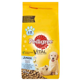 Pedigree Vital Protection Junior bohaté na kuřecí a rýži 2,2kg