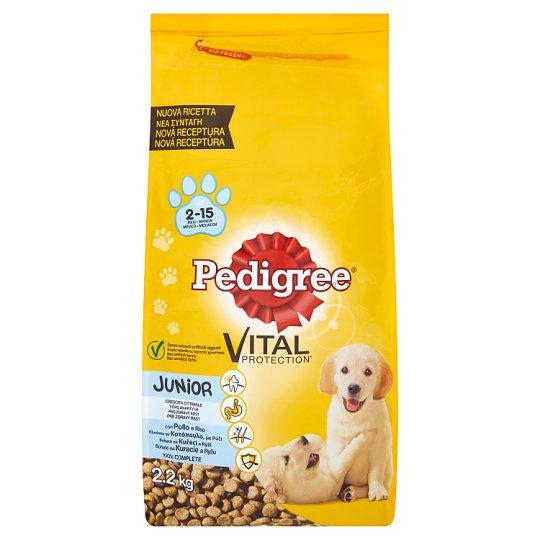 Pedigree Vital Protection Junior bohaté na kuřecí a rýži 2,2kg