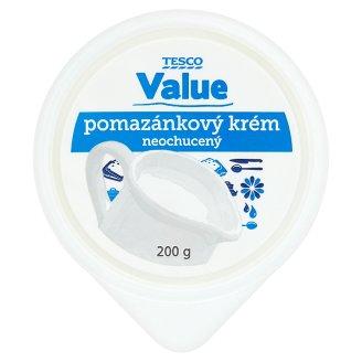 Tesco Value Pomazánkový krém neochucený 200g