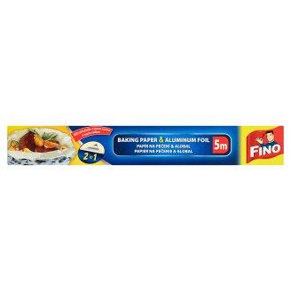 Fino Baking Paper & Aluminium Foil 5 m x 30 cm