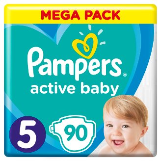 Pampers Diapers Size 5, 90 Nappies, 11-16 kg