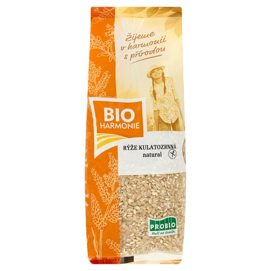 Bio Harmonie Rice Round-Natural 500g