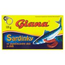 Giana Sardines in Sunflower Oil with Chilli 125g