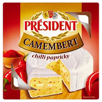 Président Camembert Chilli Peppers 90g