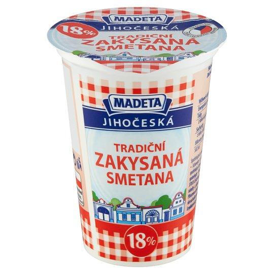 Madeta South Bohemian Sour Cream 18 % 180g