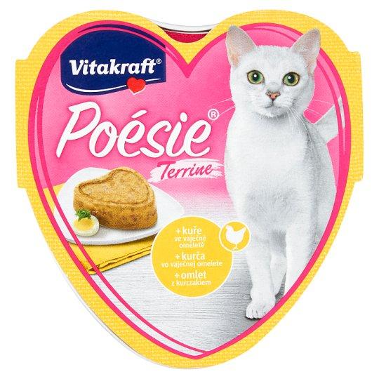 Vitakraft Poésie Terrine + kuře ve vaječné omeletě 85g