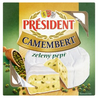 Président Camembert Green Pepper 90g