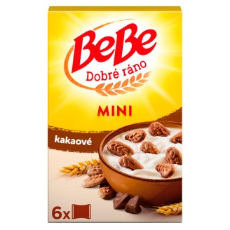 Opavia BeBe Dobré Ráno Mini Cocoa Cereal Cookies with Chocolate Pip 300g