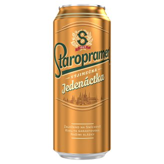 Staropramen Eleven Beer Lager Light 0.5L