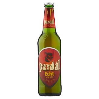 Pardál Echt světlý ležák 0,5l