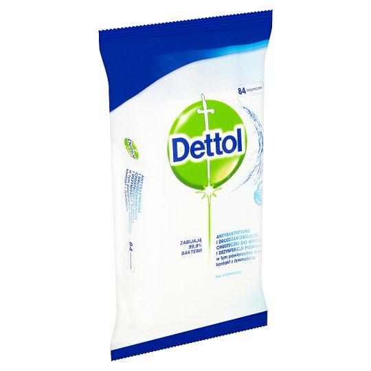 Dettol Antibakteriální ubrousky na povrchy 84 ks