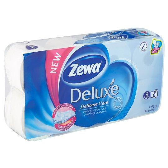 Zewa Deluxe Delicate Care Toilet Paper 8 Rolls