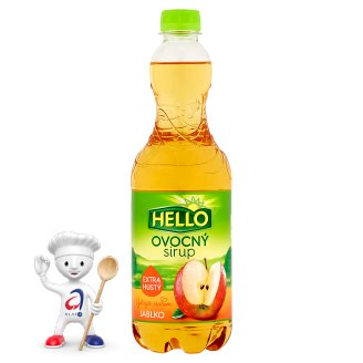 Hello Apple Fruit syrup 0.7L