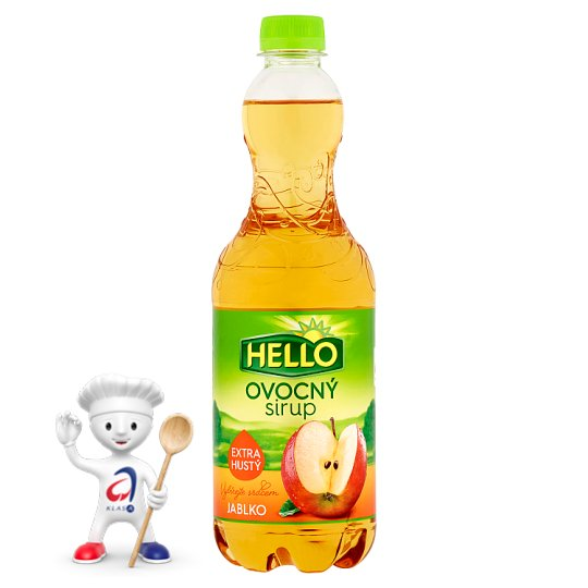 Hello Ovocný sirup jablko 0,7l
