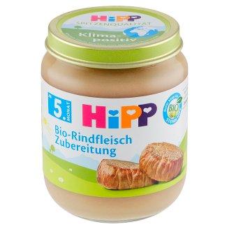 HiPP Bio hovězí maso - pyré 125g