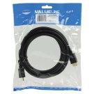 Valueline HDMI Cable 3 m Black